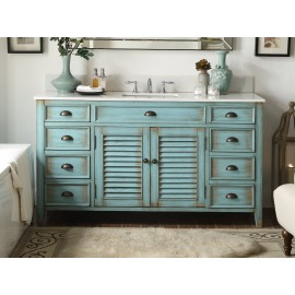 "Abbeville 60"" Antique Blue"